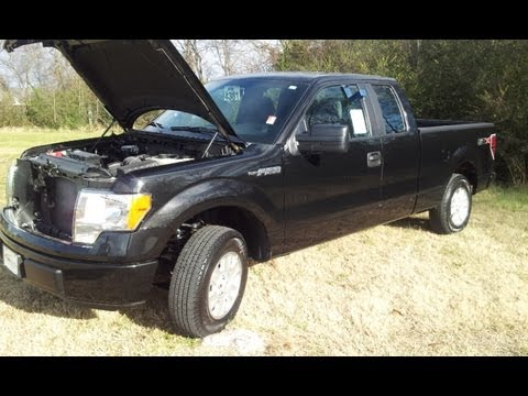 2013 FORD F-150 SUPERCAB STX 4X2 3.7 V-6 REVIEW AT FORD OF MURFREESBORO 888-439-1265