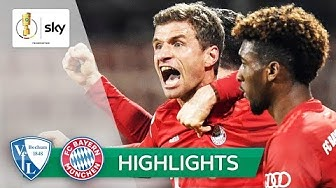 Müller! Bayern entgehen Pokal-Blamage! |VfL Bochum - FC Bayern 1:2 | Highlights - DFB-Pokal