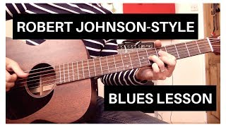 Скачать Easy Robert Johnson Style Blues Acoustic Guitar Lesson