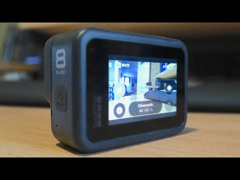 Best Settings for GoPro Hero 8 Black. Touch Screen Interface Tutorial - Netcruzer TECH