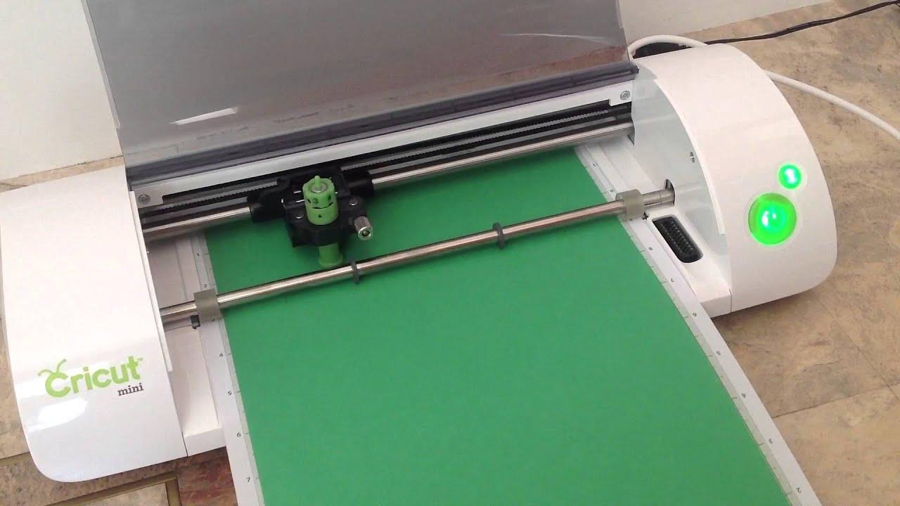 Provo Craft Cricut Mini Cutting Demonstration Youtube