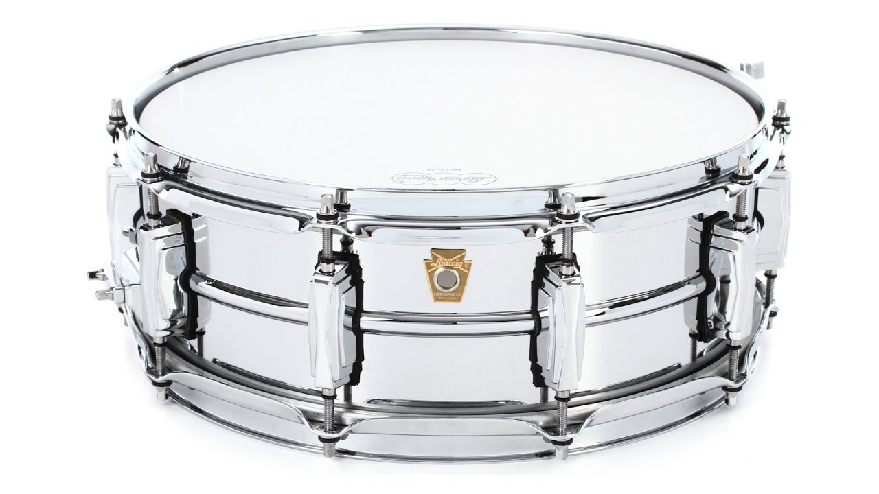 Ludwig Supraphonic LM400 Snare Drum Review by Sweetwater - YouTube