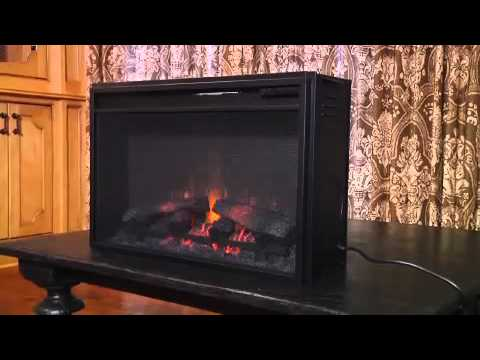 ClassicFlame 26 Screen Electric Fireplace Insert 26EF022SRA YouTube