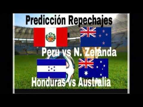 Predicción repechajes| Perú vs Nueva Zelanda| Honduras vs Australia. Mi opinión. Mundo futbol 7