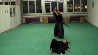 Shodan exam extract kenjutsu