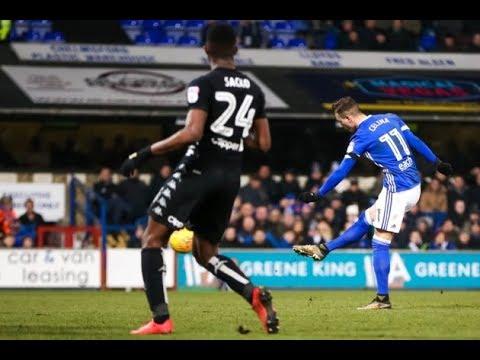 Ipswich Town 1-0 Leeds United - 2017/18 - BBC Radio Suffolk Highlights