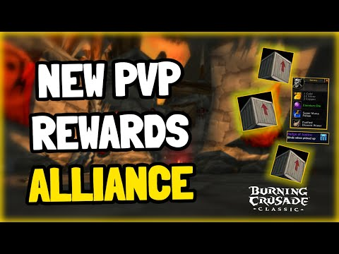 New PvP Rewards in TBC Classic - Gold, Badges and more
