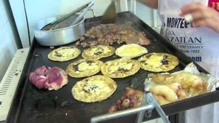 Carne Asada Tacos In Mazatlan, Mexico