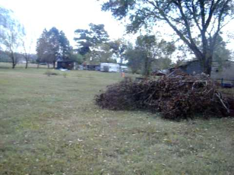Tornado Going Over Mtn. Jackson County, AL (2010)