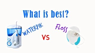 Flossing Vs Waterpik Which One Better