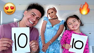 AUSTIN AND ELLE RATE MY HALLOWEEN COSTUMES!!!