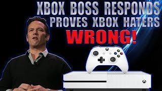 The Head Of Xbox Responds To Xbox One Haters And Just Proved Them All WRONG!