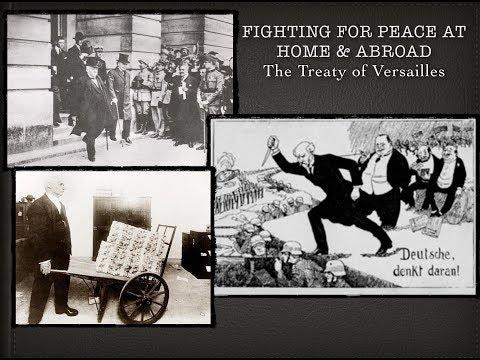 Treaty of Versailles -- German War Guilt? Treaty of Versailles Explained