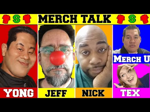 Merch Talk 2018 - Returns!! with Yong & Nick Merch By Amazon New Updates and Print on Demand