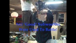 Biggest Subwoofer Battle Ever - Best Car Audio Bass Up Sub Fight w/ Greatest FIRE Blowing Explosion