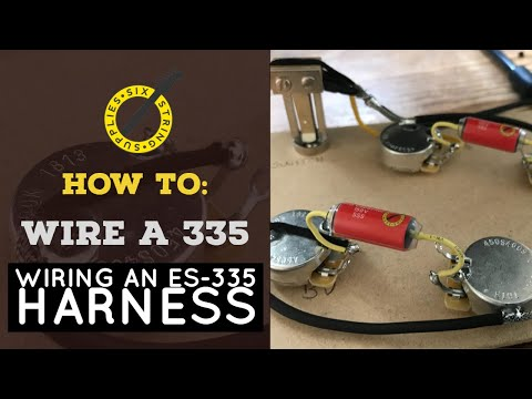 How To Wire An Es 335 Wiring An Es 335 Harness Youtube