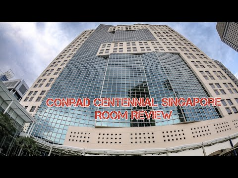 Conrad Centennial Singapore Executive Room Review
