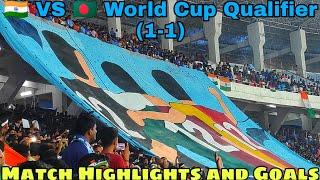 India Vs Bangladesh Football Match|| Vlog||World Cup Qualifier 2022||