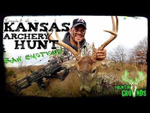 Bow Hunting Kansas Rut Deer Hunt