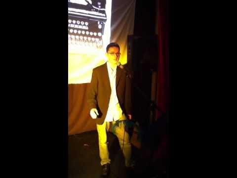 Kieren King performs 'Careers Advisor in Whitehall' @ the sandbar, Manchester