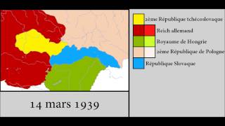 Division and destruction of the Czechoslovakia 1938 1939