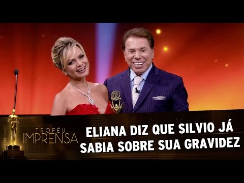 Troféu Imprensa 2017 - Eliana diz que Silvio Santos já sabia de sua gravidez