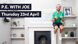 PE With Joe | Thursday 23rd April