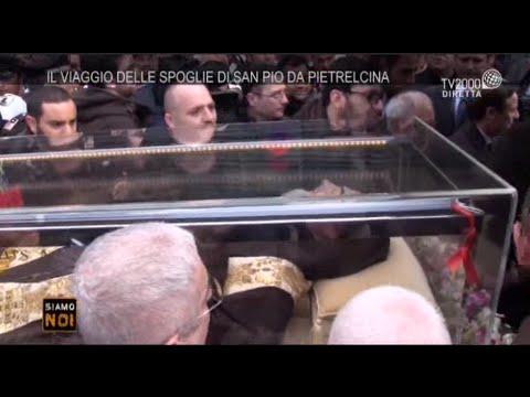 Siamo noi - San Giovanni Rotondo, la partenza della salma di San Pio per Roma