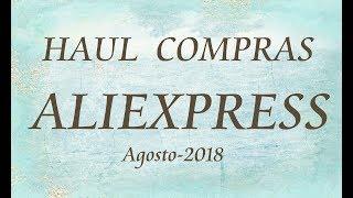 Compras Aliexpres Agosto-2018