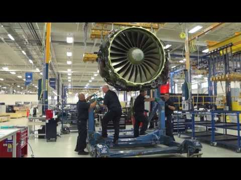 StandardAero Performs World Class MRO for CF34 and CFM56-7B Engines