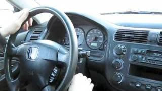 2001 Honda Civic Test Drive