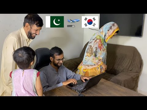 Korea Work Visa Successful | Online lucky draw | Surprise For Ami and Abu Shocking