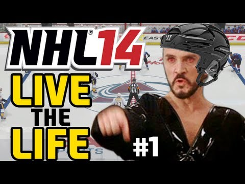 "NHL 14: Live the Life ep. 1 ""Introducing GENERAL ZOD"""