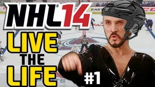 """NHL 14: Live the Life ep. 1 """"Introducing GENERAL ZOD"""""""