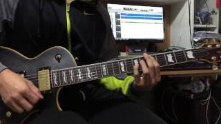 Kana-Boon - Silhouette (Guitar Cover)