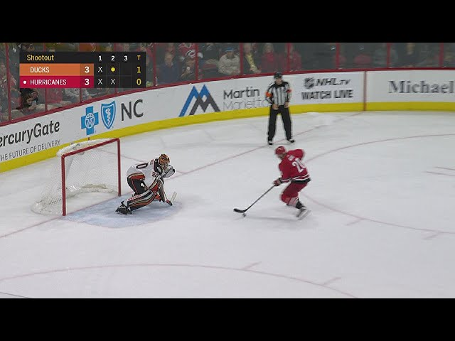 Perry, Miller help Ducks top Hurricanes in shootout