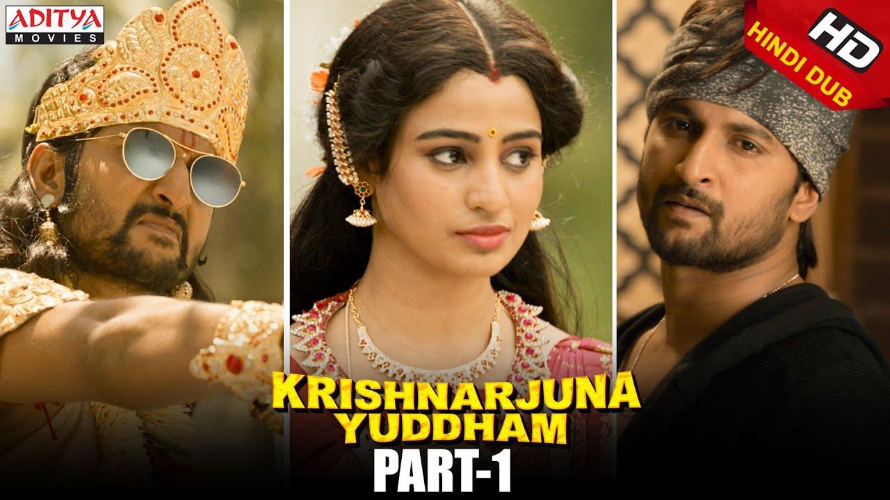 Krishnarjuna Yuddham Hindi Dubbed Movie Part 1 || Nani, Anupama, Rukshar Dhillon