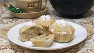Простой рецепт кексов в духовке в формочках/Кекс с изюмом простой рецепт/Тесто для кекса