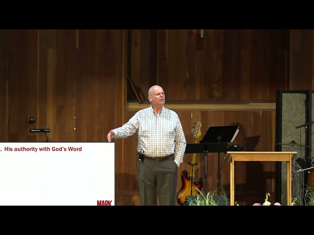 10/17/21 Mark 1:21-28 by Pete Slusher