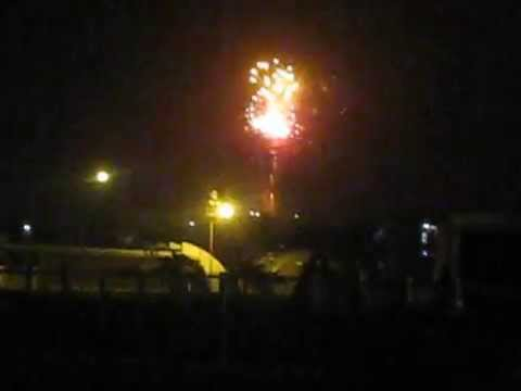 pháo hoa giao thừa Phú Yên 2015