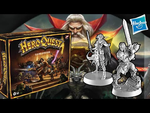 Il RITORNO di HEROQUEST! Hasbro, che COMBINI?