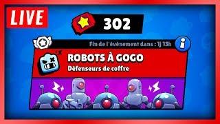 🔴 ON DÉPENSE 300 TICKETS EN ROBO À GOGO !! - Brawl Stars