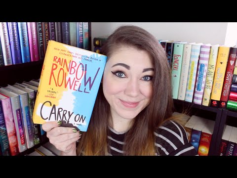 CARRY ON BY RAINBOW ROWELL | BOOK REVIEW & DISCUSSION