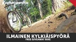 Testissä ilmainen kylkiäispyörä / free giveaway bike review