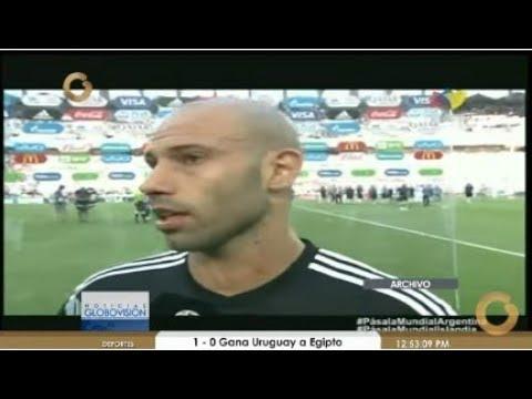 Noticias Globovisión Deportes: Empate entre Argentina e Islandia #RusiaPorGV