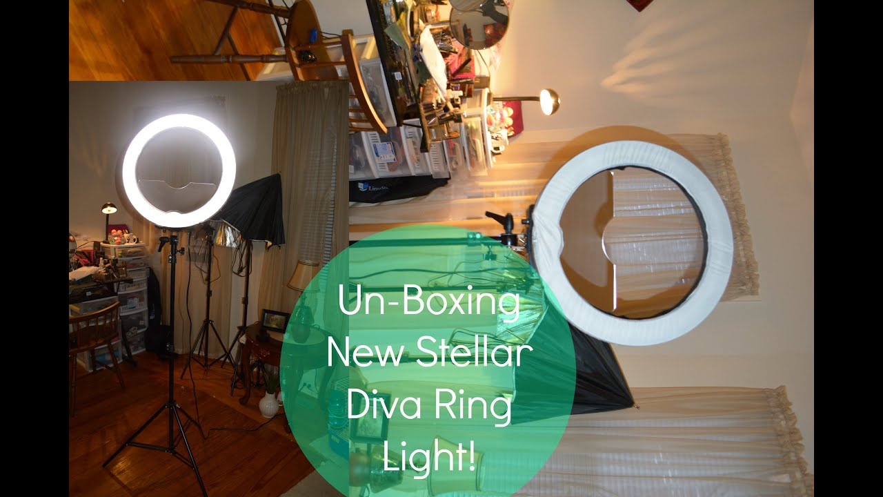 & Stellar Diva Ring Light Un-Boxing / Quick Review - YouTube azcodes.com