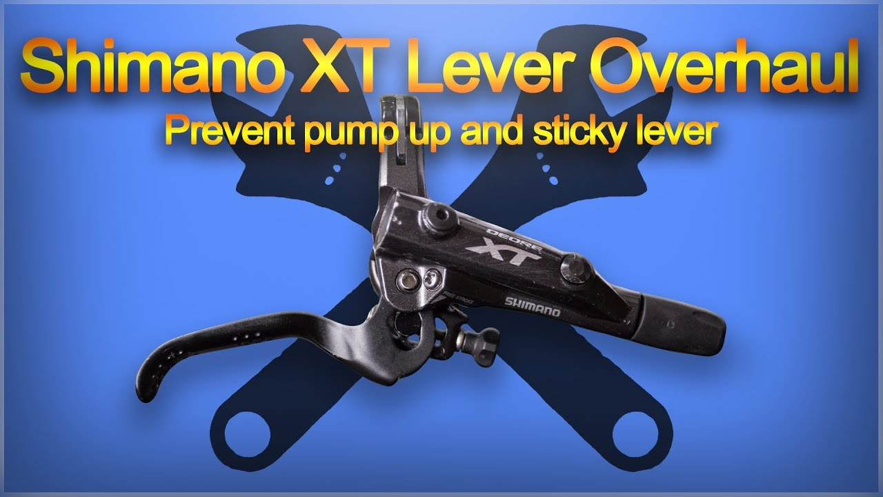 f5d931b98a9 Shimano XT M8000 Lever Overhaul - Common problem solving - YouTube