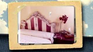 Cabecero Vintage De Rayas / Vintage Striped Headboard