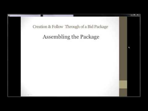 Bid Package 2