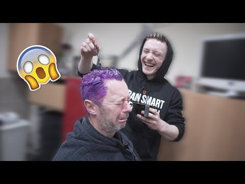 WHAT COLOUR IS MY HAIR!? **Forfeit gone wrong**
